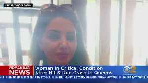 Woman In Critical After Hit-And-Run Crash [Video]