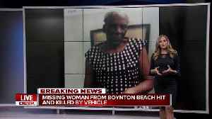 Missing 92-year-old woman fatally struck by car in Lake Worth [Video]