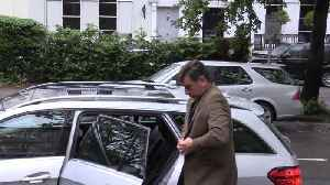 Nick Knowles Arrives At Court [Video]