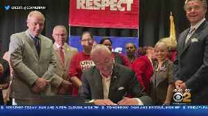 Murphy Signs Hotel Safety Law [Video]