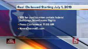 Tennessee will begin issuing Real-ID driver licenses on July 1 [Video]