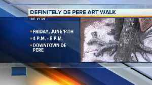 Definitely De Pere Art Walk features new sculptures and murals throughout the downtown area [Video]