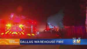 Fire Engulfs Cabinetry Business In Northwest Dallas [Video]