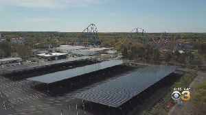 News video: New Jersey Six Flags Almost Fully Powered By Solar Energy