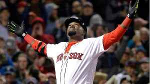News video: Baseball's David Ortiz Walks After Surgery, Second Arrest Made