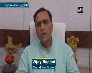 Cyclone Vayu Request tourists to leave for safer places Vijay Rupani [Video]