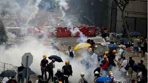 News video: Hong Kong: Protests Turn To Chaos Over Extradition BIll