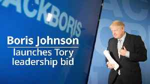 News video: Boris Johnson's Tory leadership bid round-up