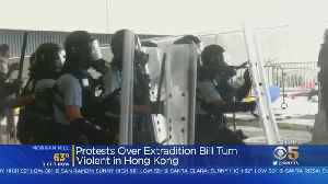 Hong Kong Protests Turn Violent Over Extradition Bill [Video]