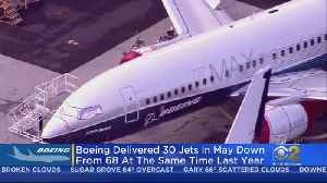 Boeing Deliveries Fall; No New Orders In Two Months [Video]