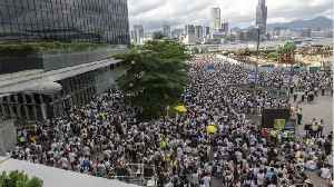 News video: Britain Calls On Hong Kong to Pause Extradition Bill, Maintain Rights