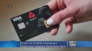 News video: You Could Be Swallowing A Credit Card's Weight In Plastic Every Week