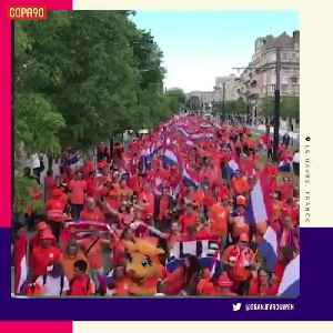 News video: Holland fans officially have FIFA Women's World Cup fever