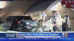 Suspect Killed, Deputy Wounded In Riverside Shootout [Video]