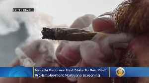 News video: Nevada Becomes First State To Ban Most Pre-Employment Marijuana Screening