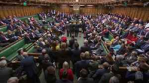 News video: MPs defeat motion seeking to block no-deal Brexit