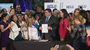 Governor Pritzker Signs Abortion Rights Law [Video]