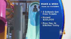 Make A Wish Program Party At Elitches For Fundraisers [Video]