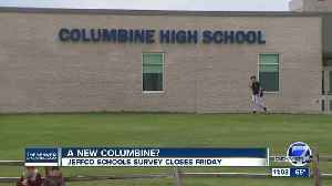 Survey over whether to build new Columbine High School ends Friday [Video]