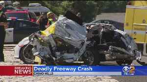 2 Killed, Teen Critically Injured In Multi-Car Pileup On 71 Freeway In Chino Hills [Video]