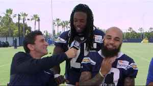 Los Angeles Chargers running back Melvin Gordon on Los Angeles Rams running back Todd Gurley's injury: The media is 'blowing tha [Video]