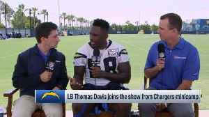 Los Angeles Chargers linebacker Thomas Davis explains 'biggest draw' to joining Chargers in free agency [Video]