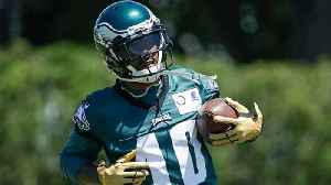 First look at wide receiver DeSean Jackson at Philadelphia Eagles practice [Video]