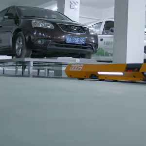 This garage parks your car for you [Video]