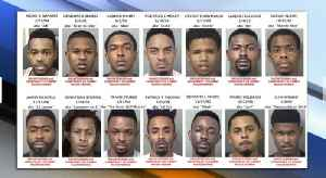 14 suspected gang members arrested in Palm Beach County crime crackdown [Video]