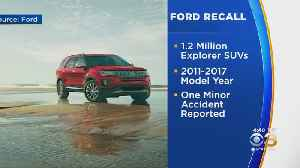 Ford Recalls Over 1.2 Million Explorer SUV's From 2011-2017 [Video]