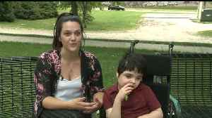 News video: 8-Year-Old Boy's 'Voice Stolen': Thieves Take Devices Necessary to Communicate, Walk
