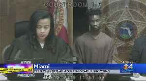 Miami Gardens Teen Who Allegedly Shot & Killed Promising Football Player Charged As Adult [Video]