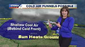 'Cold air funnels' possible in southeast Wisconsin [Video]