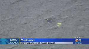 Crews Searching For Plane In Central Florida Lake [Video]