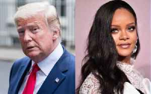 Donald Trump's First Twitter 'Like' in Years Is Awarded to Rihanna [Video]