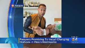 Pampers Promises To Install Changing Stations In Men's Restrooms [Video]