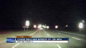 Chase reaches speeds close to 130 mph in Racine County [Video]