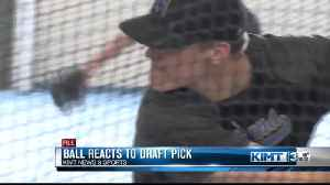 Ball reacts to draft pick [Video]