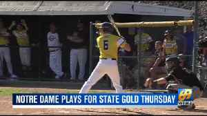 NDGP baseball state championship preview [Video]