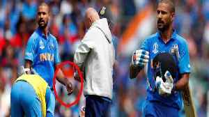 World Cup 2019 : BCCI takes big decision over Injured Shikhar Dhawan | Oneindia News [Video]