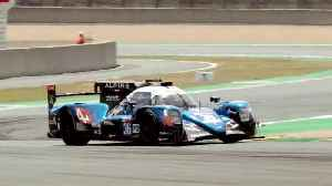 2019 Alpine Le Mans Test Day Highlights [Video]