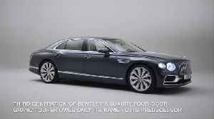 All-new Bentley Flying Spur - Sports sedan meets luxury limousine [Video]
