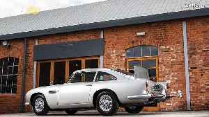 For Your Auction Only! Aston Martin Used In 2 Classic Bond Films Complete With Gadgets To Go To Auction For Millions! [Video]