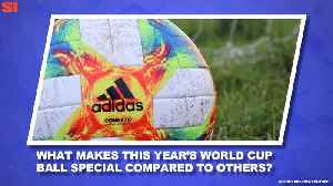 News video: World Cup Daily: The Story Behind the World Cup Ball's Design
