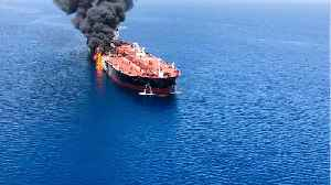 News video: Tanker Sinks In Gulf Of Oman After Attack