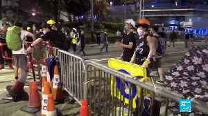 Hong Kong extradition bill: police fire tear gas, rubber bullets to disperse crowds [Video]
