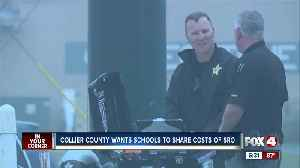 Collier county wants district to share costs for school resource officers [Video]