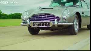 Aston Martin built for James Bond heading to auction [Video]