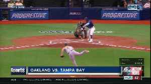 Ramon Laureano hits first career grand slam as Oakland Athletics beat Tampa Bay Rays 6-2 [Video]