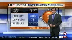 Forecast: A few showers this morning along the coast with scattered rain this afternoon [Video]